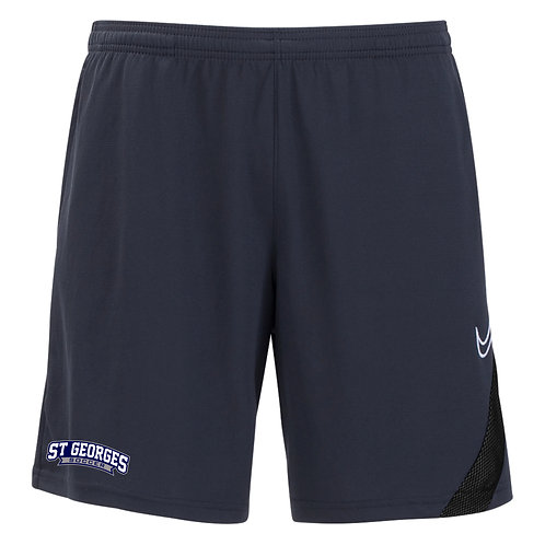Nike SGTHS Soccer Academy Pro Pocket Training Shorts (Grey/Black)