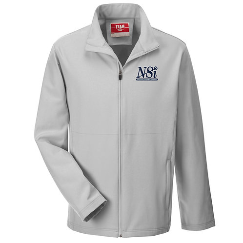 NSI Men's Team365 Leader Soft Shell Jacket (Grey)