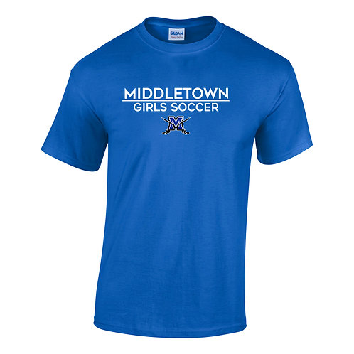 Gildan Softstyle® SS Middletown Girls Soccer Shirt