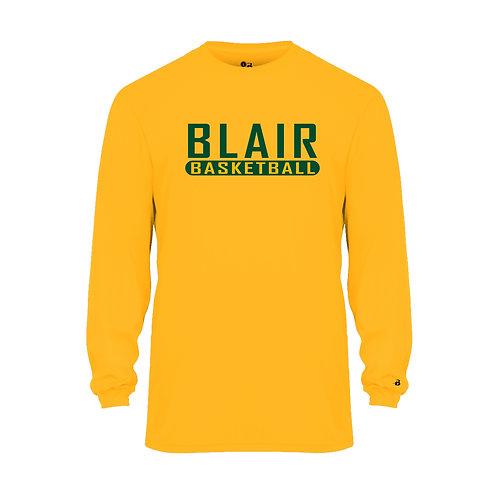Badger Men's B-Core LS Shirt Blair Basketball