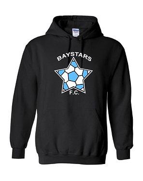 Baystars FC Big Logo Hooded Sweatshirt (Various Colors)