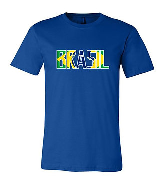 Brasil World Cup Country Tee (Blue)