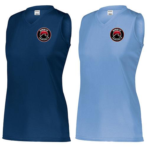 Beach FC Fury Augusta Attain Women's Sleeveless Training Shirt 4794