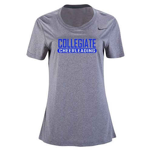 Nike Women's Legend SS Crew Collegiate Cheer