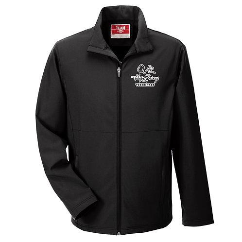Team365 Men's Leader Soft Shell Jacket Hope Springs (Black)