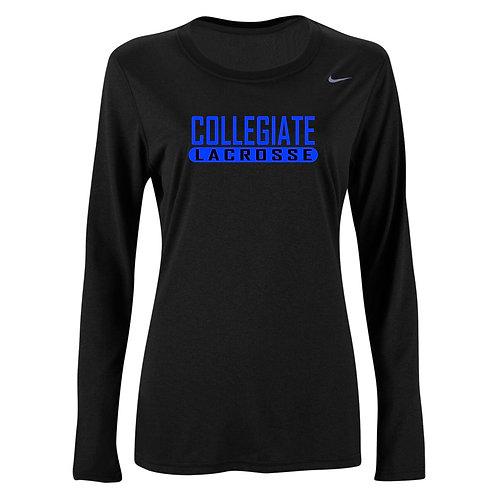 Nike Women's Legend LS Crew Collegiate Lacrosse