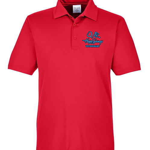 Team 365 Men's Zone Polo Hope Springs (Red) TT51