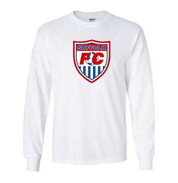 Suffolk FC Long Sleeve Big Logo T-Shirt