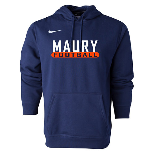 Nike Men's Club Fleece Hoody Maury Football