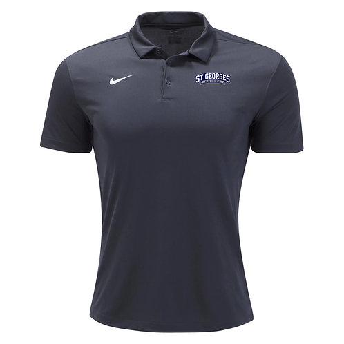 Nike SGTHS Soccer SS Pregame Polo (Anthracite)