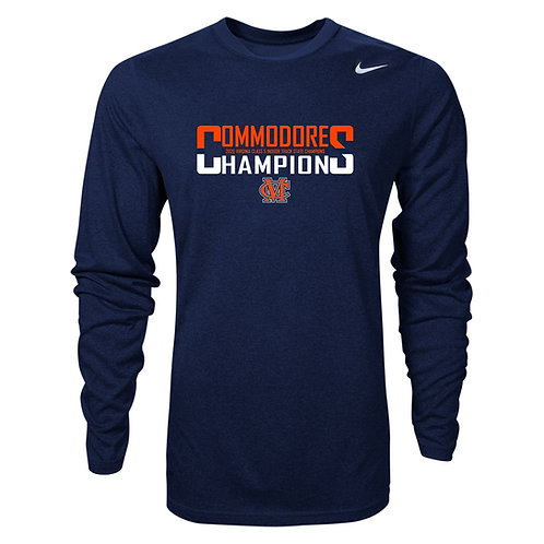 Nike Men's Legend LS Maury Indoor Track State Champs