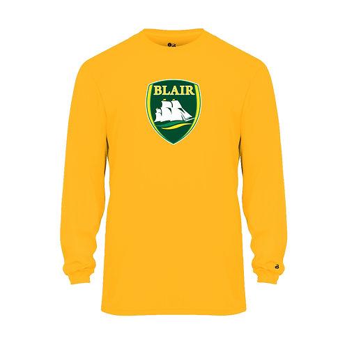Badger Men's B-Core LS Shirt Blair Logo