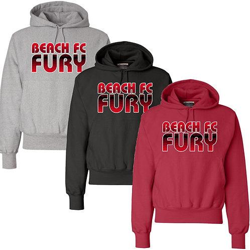 Beach FC Fury Champion® ADULT 12 oz. Reverse Weave Hooded Sweatshir