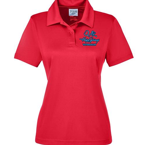 Team 365 Women's Zone Polo Hope Springs (Red) TT51W