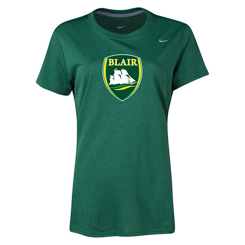 Nike Women's Legend SS Crew Blair Logo
