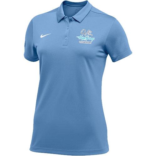 Nike Women's Stock Team Polo Hope Springs (Sky)