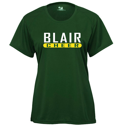 Badger Women's B-Core SS Shirt Blair Cheer