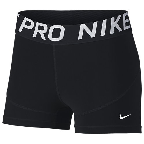 "Nike Women's Pro 3"" Compression Shorts Maury Lacrosse"