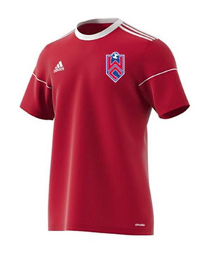 Adidas White Clay SC Jersey (Red)