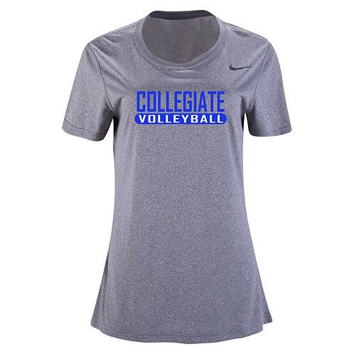 Nike Women's Legend SS Crew Collegiate Volleyball