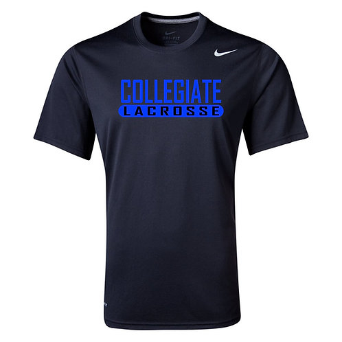 Nike Men's Legend SS Crew Collegiate Lacrosse