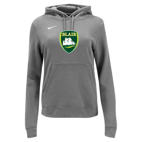 Nike Women's Club Fleece Hoody Blair Logo