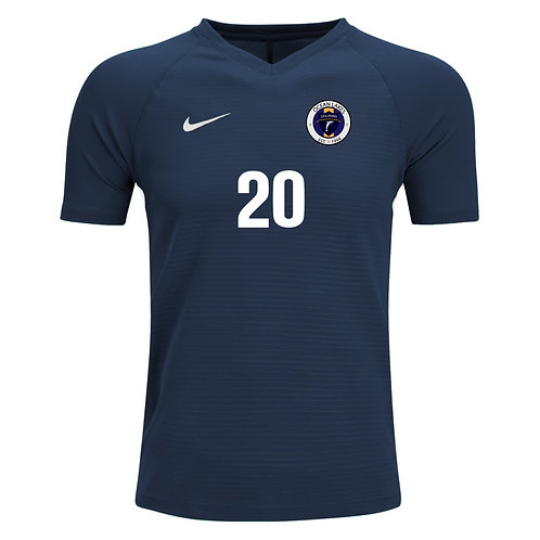 Nike Men's Tiempo Premier SS Jersey Ocean Lakes Soccer (Navy)