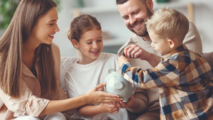 Five ways to teach your kids good financial habits
