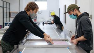 """Wallpaper Artist Brings """"Queen City"""" Indoors!"""