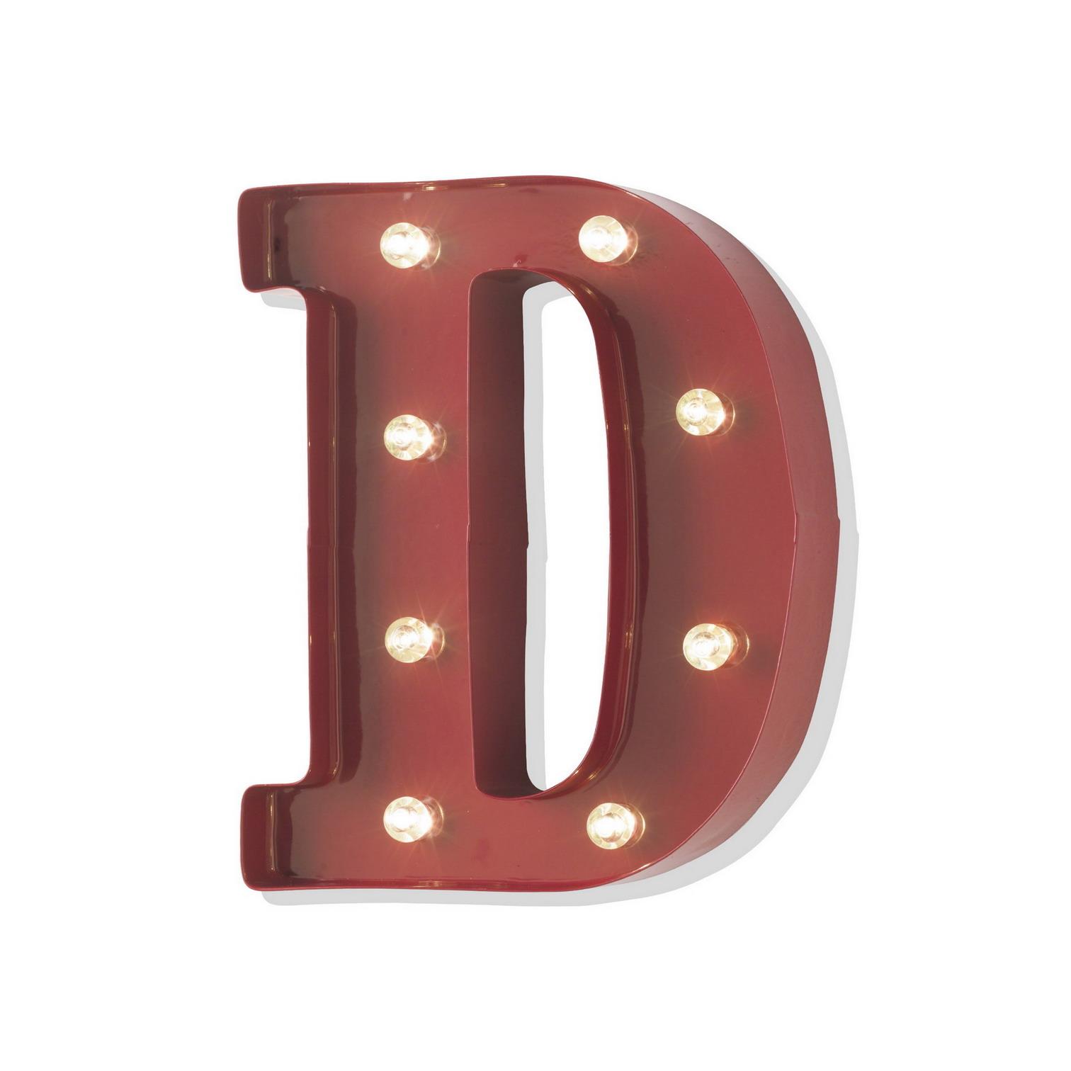 Quadro lettera D