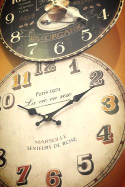 Clocks area
