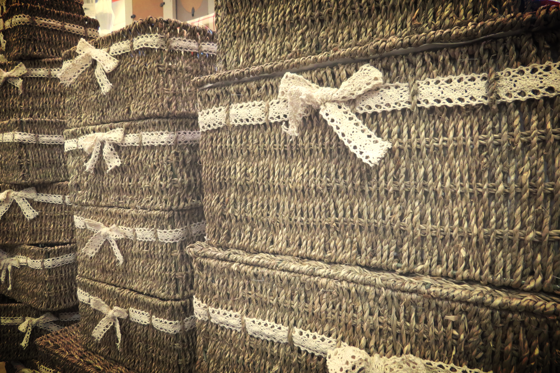 Basketry area