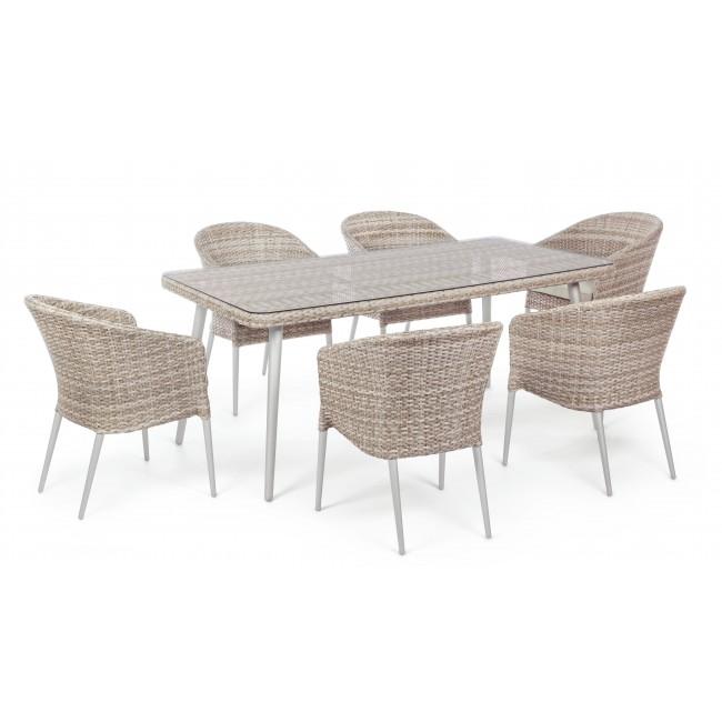Tavolo per esterno con sedie
