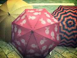 Umbrellas area