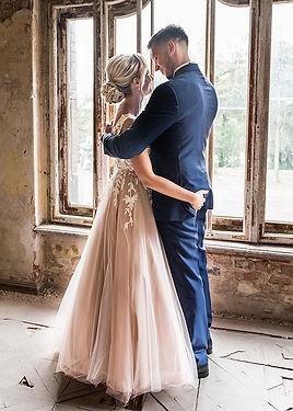 Sesja ślubna w pałacu w Krowiarkach