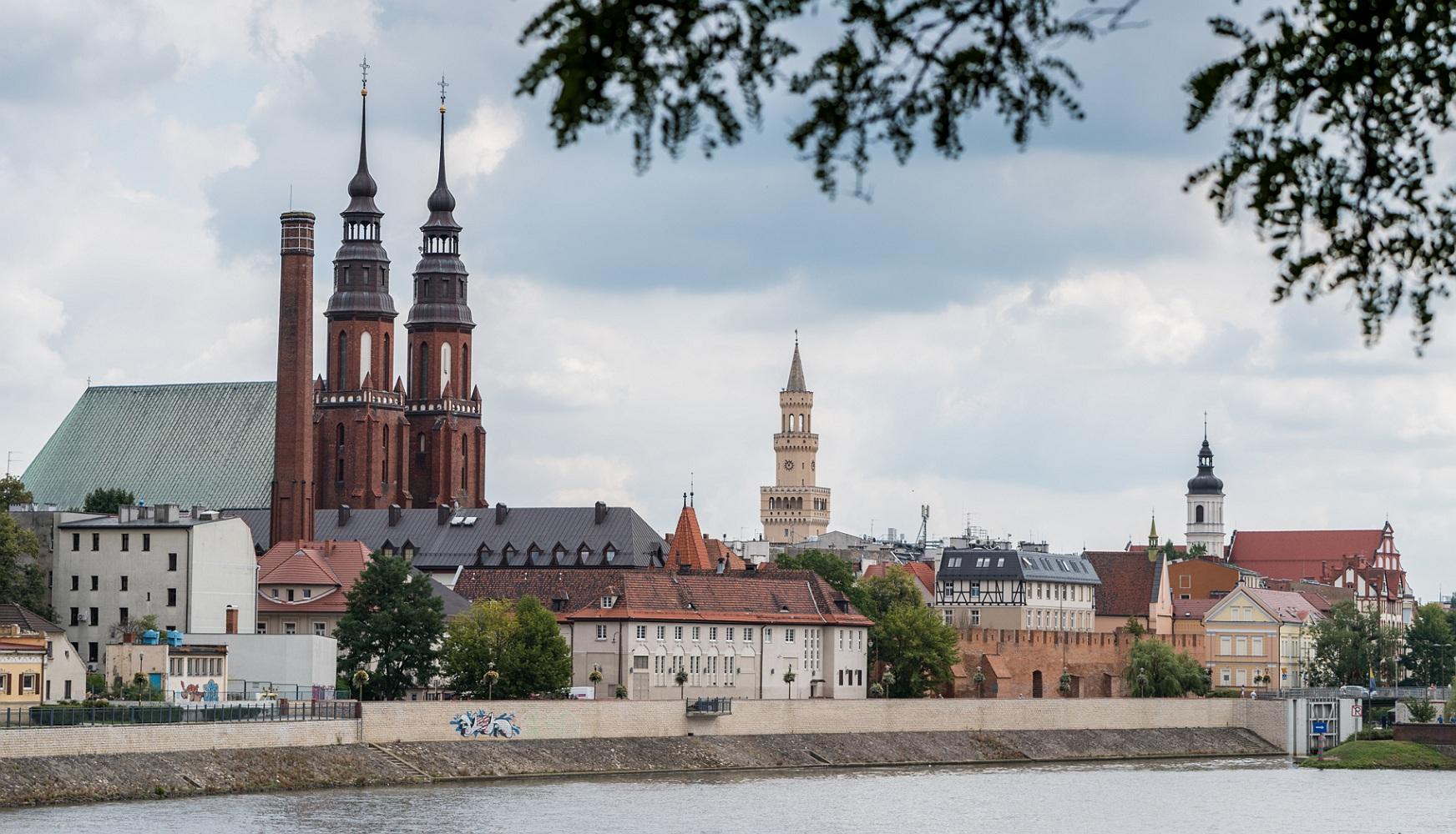Katedra i Ratusz Opolski
