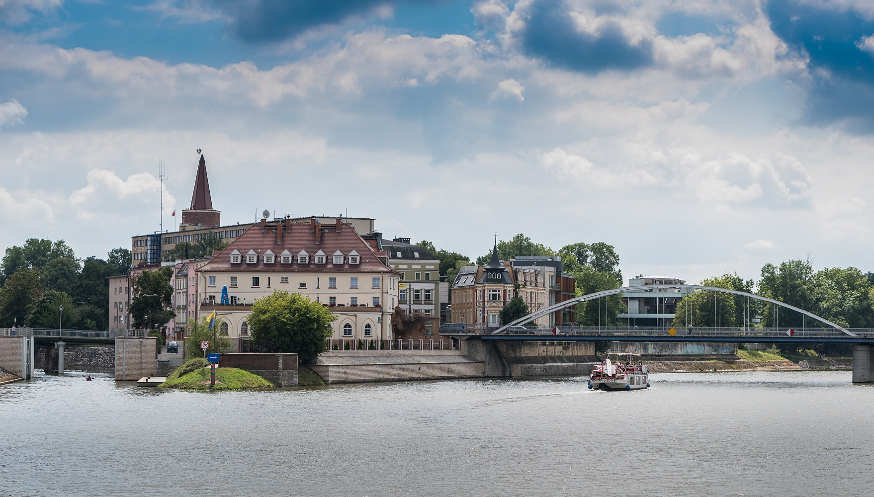 Odra i most Piastowski