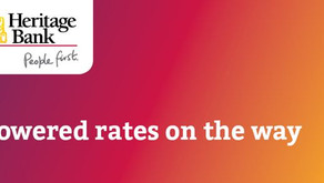 Lowered rates on the way from Heritage