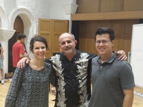 Hosting Yehuda Gilad masterclass at PCM Clarinet Camp