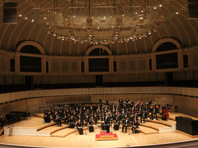 Performing with Mt. SAC Wind Ensemble at Chicago Symphony Hall