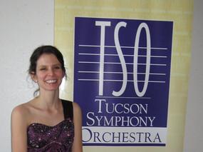 TSO solo debut, Mozart Clarinet Concerto