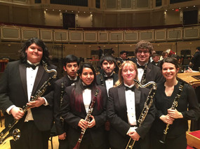 Chicago Symphony Hall performance with Mt. SAC Wind Ensemble