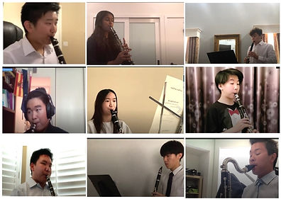 2021 Studio Zoom Recital. These students pre-recorded, and nearly all performed with piano