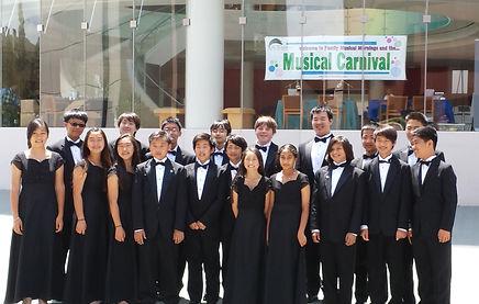 Conducting South Pointe Clarinet Choir a