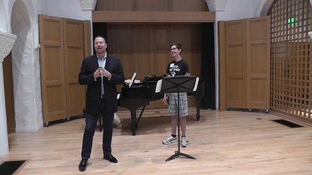 Don Foster, Second Clarinet of LA Opera,