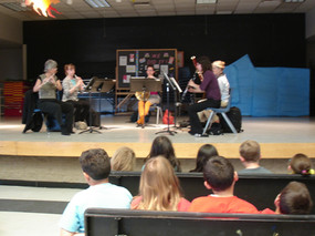 Outreach concert with the TSO Wind Quintet