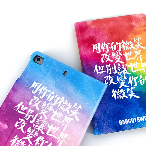 """""""自訂1-20個手寫中文字/英文字""""iPad套訂製"""