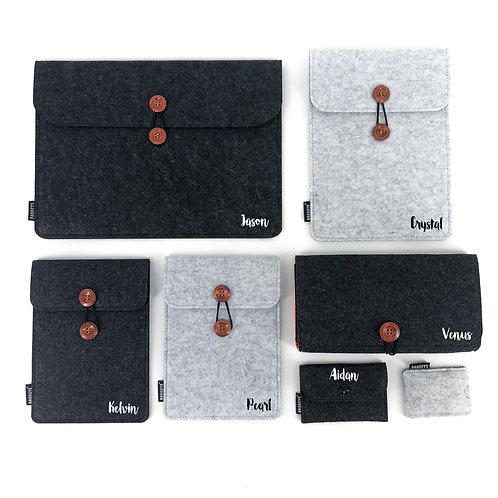 毛氈電腦袋(13-14吋/15-16吋)訂製