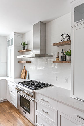 Where to Hang Open Shelves in your Kitchen