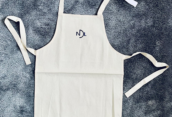 NDL organic cotton kids apron